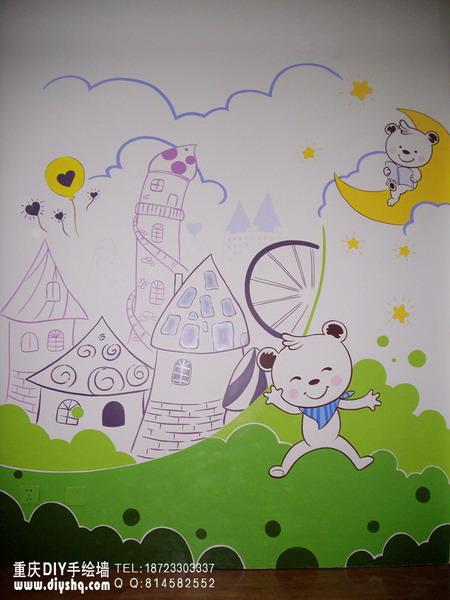 童话城堡·卡通小熊·小朋友的童话梦
