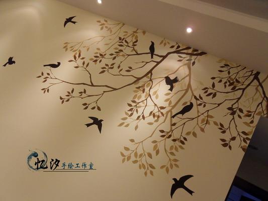 重庆忆汐手绘墙 墙绘 壁画
